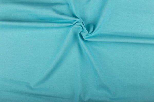 Katoen stof lichtblauw