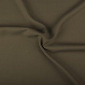 Polyester stof kopen middelkhaki
