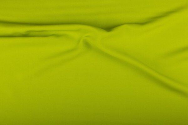 Polyester stof kopen limoengroen