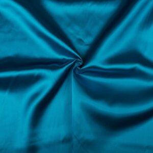Voeringstof waterblauw