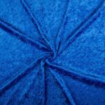Velours stof Cobalt