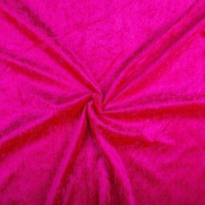 Velvet stof fuchsia