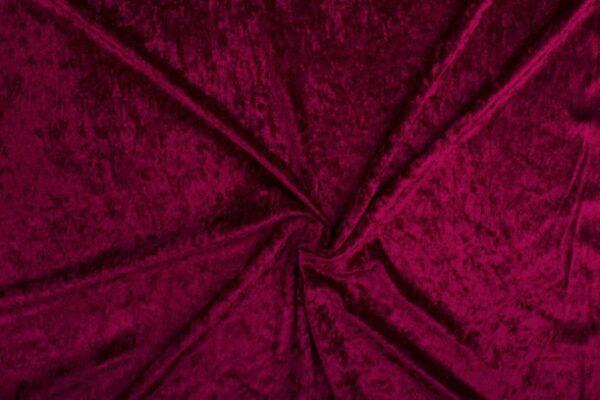 Velvet stof bordeaux