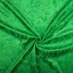 Crushed velvet groen