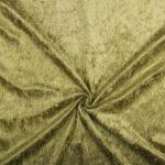 Crushed velvet lichtkhaki