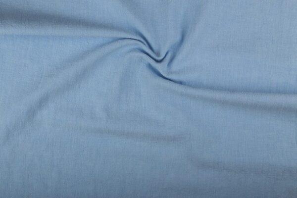Linnen stof blauw