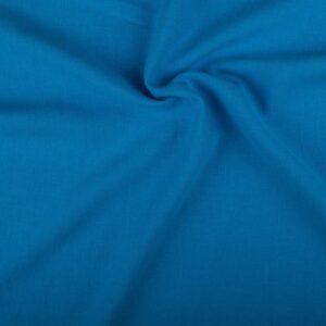 Linnen stof waterblauw