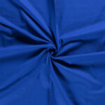 Canvas stof cobalt
