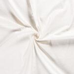 Canvas stof op rol gebroken wit
