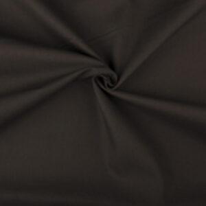 Katoen stof op rol donkertaupe