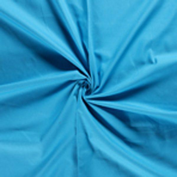 Canvas stof waterblauw