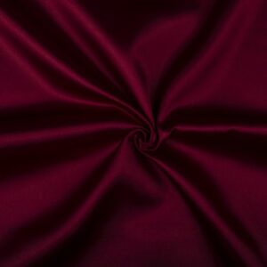 Glimmende stof bordeaux rood