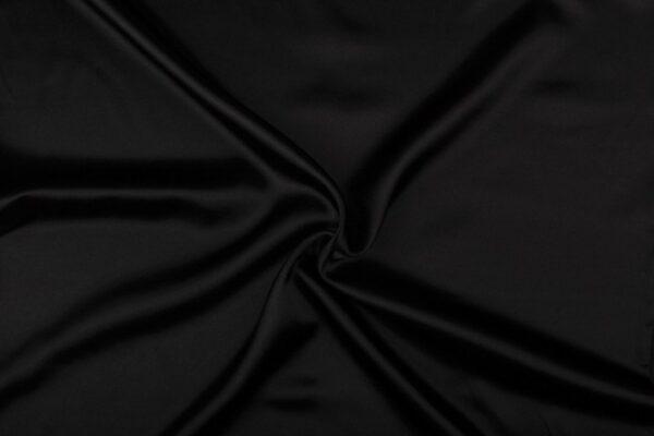 Zwart satijn
