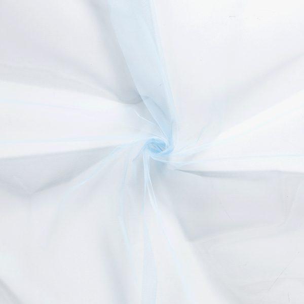 Tule stof blauw