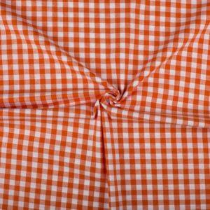 Brabants bont stof oranje
