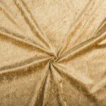 Velours de panne camel bruin