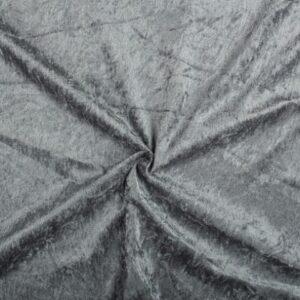 Velvet stof antraciet
