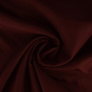 Brandvertragende stof bordeaux rood