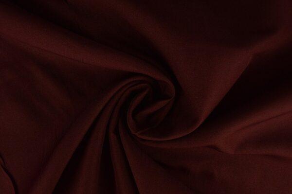 Brandvertragende stof bordeaux rood