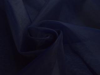 Organza marineblauw