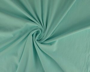 Gewassen katoen - Turquoise