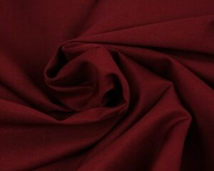 Poplin katoen - Bordeaux rood