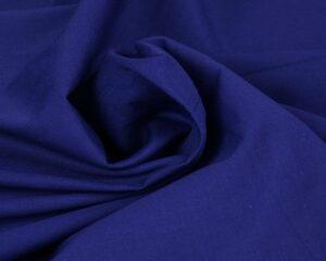 Poplin katoen - Donkerblauw
