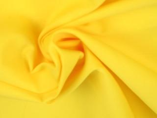 Poplin katoen - Geel