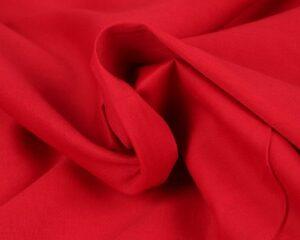 Poplin katoen - Rood