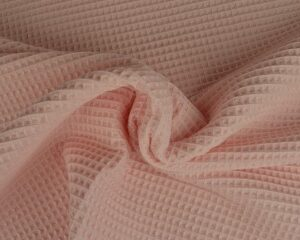 Baby roze wafelstof