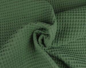 Oud groen wafelstof