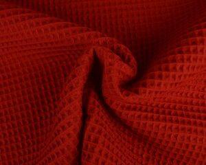 Rode wafelstof