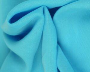 Aqua blauw chiffon stof