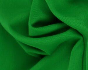Groene chiffon stof
