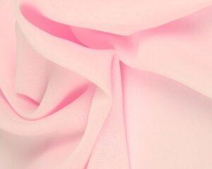 Baby roze chiffon stof