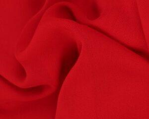 Rode chiffon stof
