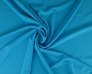 Aqua blauw lycra stof