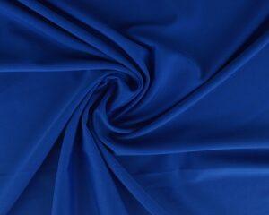 Blauwe lycra stof