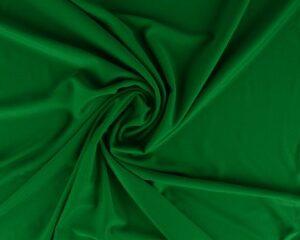 Groene lycra stof