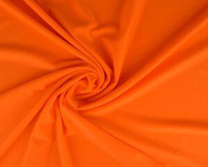 Oranje lycra stof