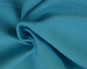 Aqua blauw boordstof