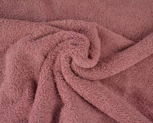 Donker oud roze badstof