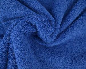 Donkerblauwe badstof