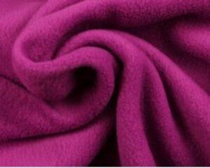 Cassis fleece stof