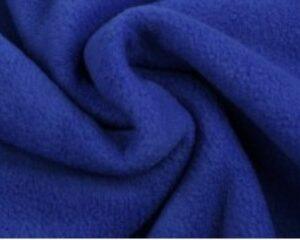 Donkerblauwe fleece stof