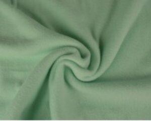 Licht mint fleece stof