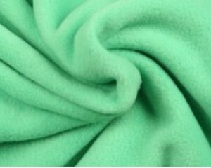 Mintgroene fleece stof