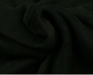 Zwarte fleece stof