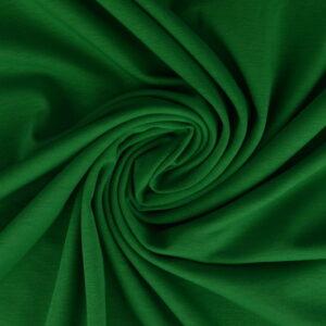 Katoen tricot - Groen