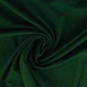 Katoen tricot - Donkergroen